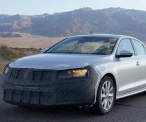 Шпионские фото новой Volkswagen Jetta