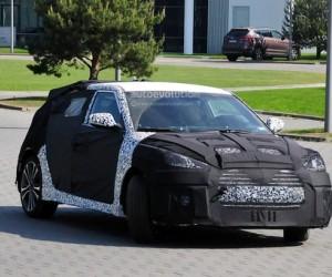 Новый Hyundai Veloster замечен на тестах