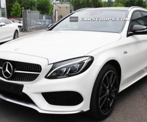 В Сети появились фотографии Mercedes-Benz C450 AMG Sport