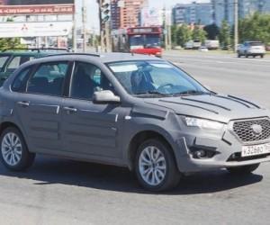 Российский хэтчбек Datsun mi-DO засветился на дорожных тестах