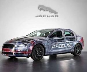 Автопроизводитель Ягуар представил тизер своей новой модели — седана под названием ХЕ