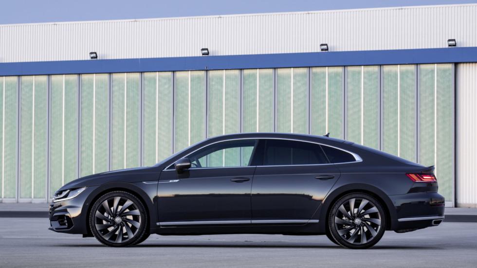 VW выпустит «заряженный» Arteon Rс400-сильным мотором